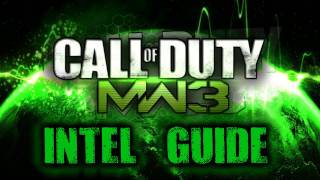 Repeat youtube video Modern Warfare 3 - All Intel Locations (Scout Leader Trophy / Achievement Guide)