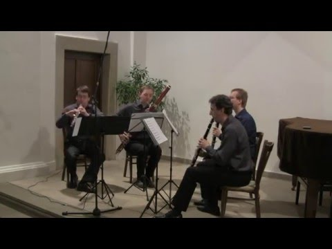 J.S.Bach: Goldberg Variations, arr. for oboe, clarinet, basset horn and bassoon