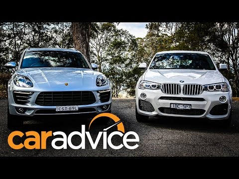 Porsche Macan v BMW X4 Review: Potent Petrol SUVs under $100k