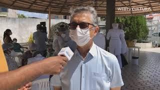 Diácono Antônio Passos fala sobre a vacinação do COVID-19 no Lar SAME