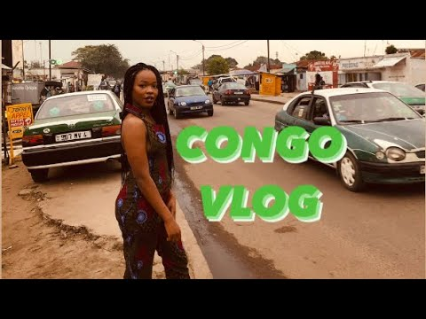 Ruth in da city Congo Brazzaville Vlog