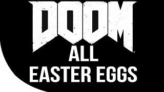 DOOM All Easter Eggs