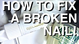 Nail Tutorial: How to fix a broken Nail Thumbnail