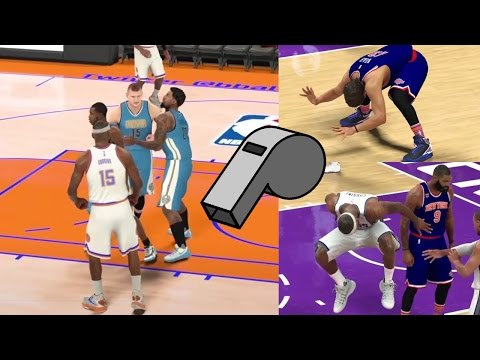 Technical Fouls & Ejections In NBA 2K21? We Want Them! NBA 2K17 Simulation