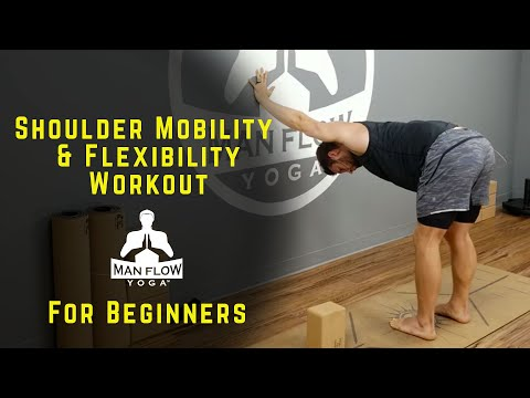 Best Shoulder Workout for Shoulder Mobility and Flexibility | Great for Beginners!
