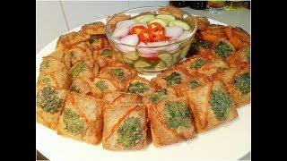 ขนมปังหน้าหมูเคล็ดลับทำให้กรอบไม่อมน้ำมันพร้อมสูตรน้ำจิ้มอาจาดทานคู่กันอร่อยมากๆจร้า