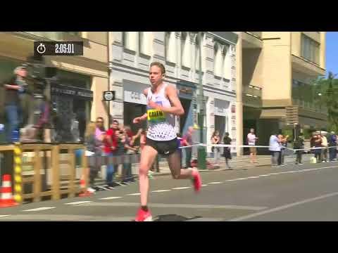 2018 Prague marathon galen rupp 2:06:07 win