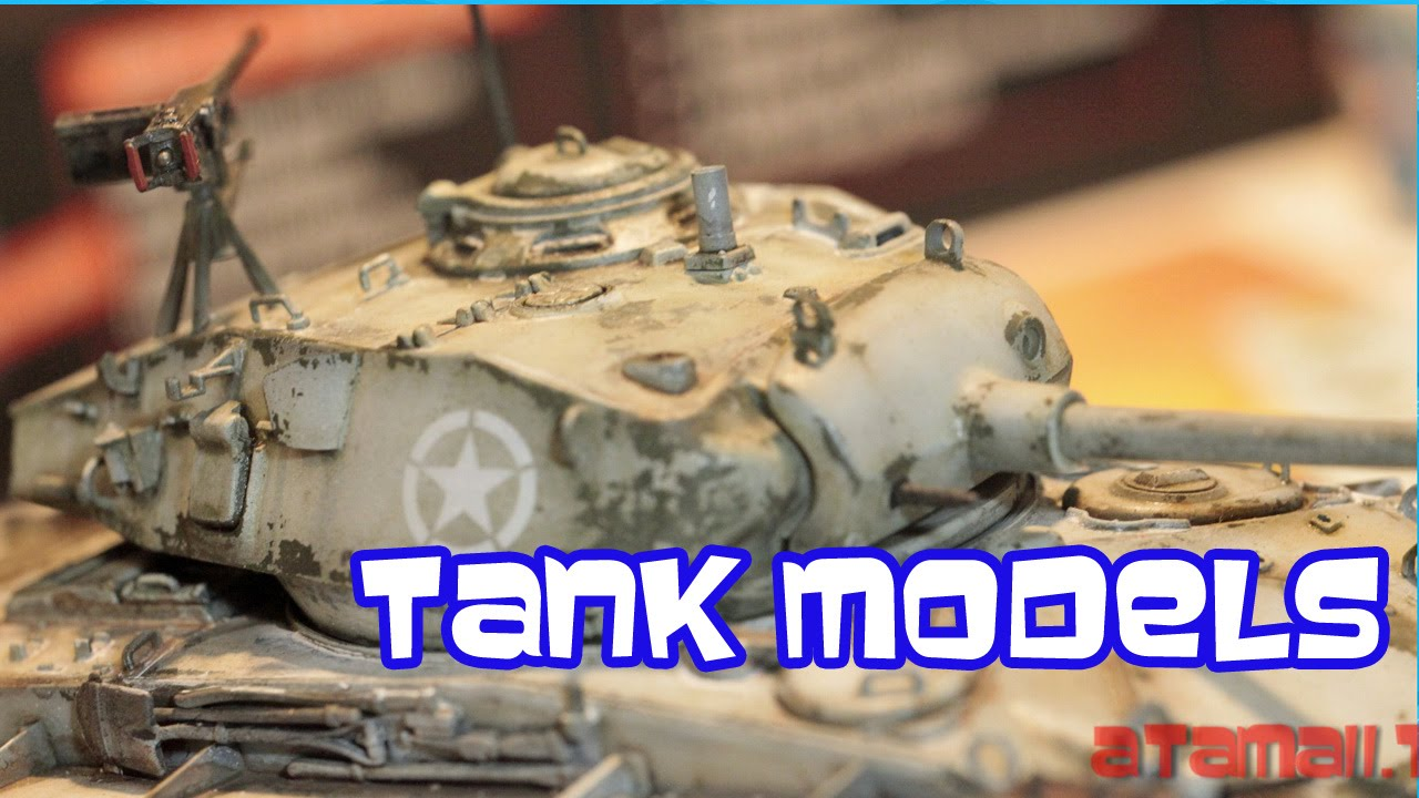 World of Tanks WW II Tank Models Super Detail