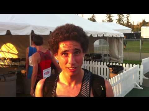 Cam Levins post-race interview Edmonton 5000m