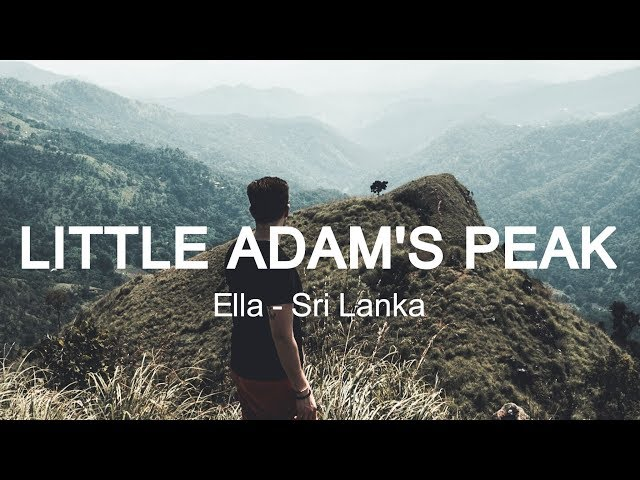 TRAVELLING TO SRI LANKA | ELLA