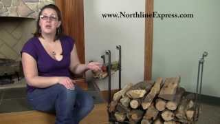 Tradition And Convenience In One With The Large Rectangle Firewood Rack