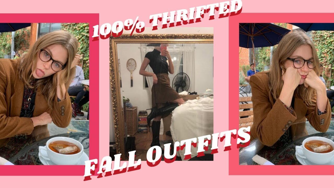 [VIDEO] - THRIFTED FALL OUTFITS 1