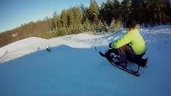 Stiga Snow Racer Rattikelkka
