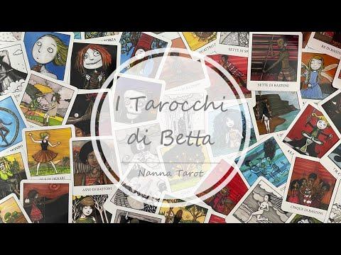 開箱  貝塔塔羅牌 • I Tarocchi di Betta // Nanna Tarot