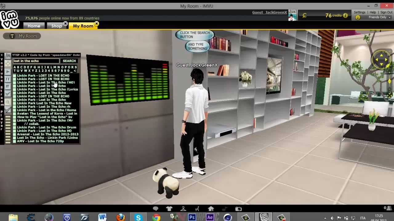 How to get music on imvu