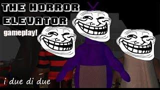 i due di due su horror aufzug! roblox Gameplay ita