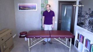 Распаковка и обзор складного массажного стола Vision Juventas II