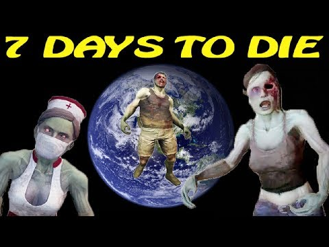 7 Days to Die [ STARVATION ] ► Зомби на подходе ► №25 (Стрим)