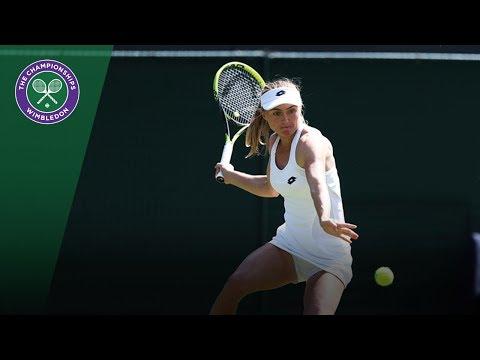 Aliaksandra Sasnovich vs Petra Kvitova Highlights | Wimbledon 2018