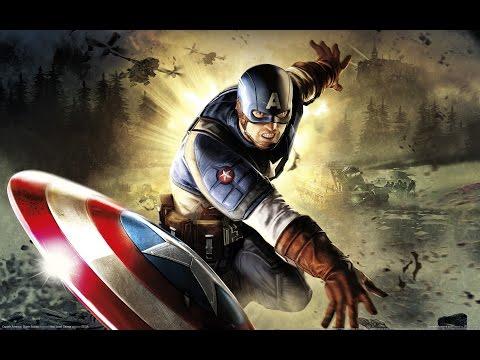 Captain America: Super Soldier All Cutscenes (Game Movie) 1080p HD