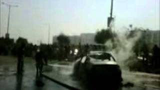 Real accident on Noida express High way