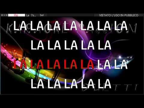 ANIMA FRAGILE ( V. Rossi) base Karaoke Passion