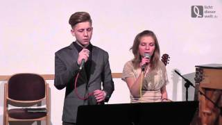 Licht dieser Welt - Adventsingen 2015 - Maxi & Isabelle - Тихая ночь над землею