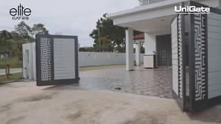 Cấu trúc cửa cổng tự động