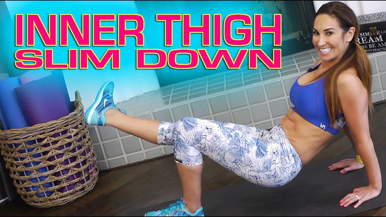 slim down inner thighs