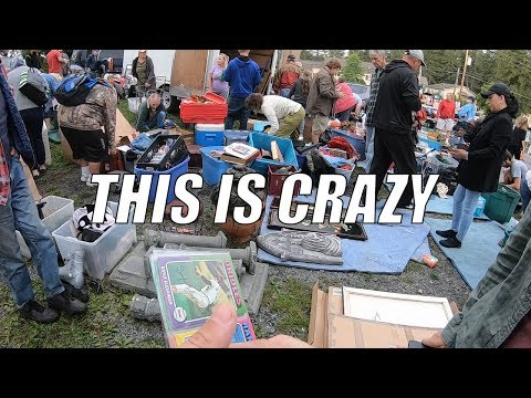 THIS IS WHO YOU NEED TO BUY FROM AT THE FLEA MARKET - Treasure Hunting