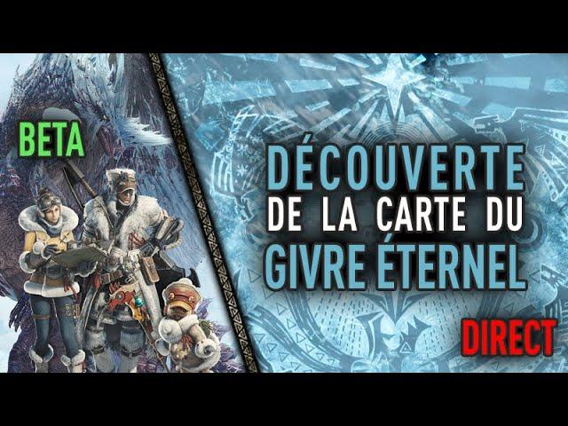 MHW Iceborne Live : Découverte du Givre Éternel - Beta Test #1