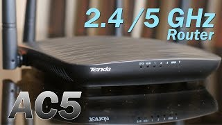 Tenda AC5 review - Smart dual band 2.4GH / 5GHz Wi-Fi Router (AC1200), price Rs. 1800 (approx)