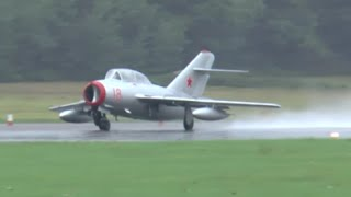MiG-15 jet fighter display - Dunsfold 2015