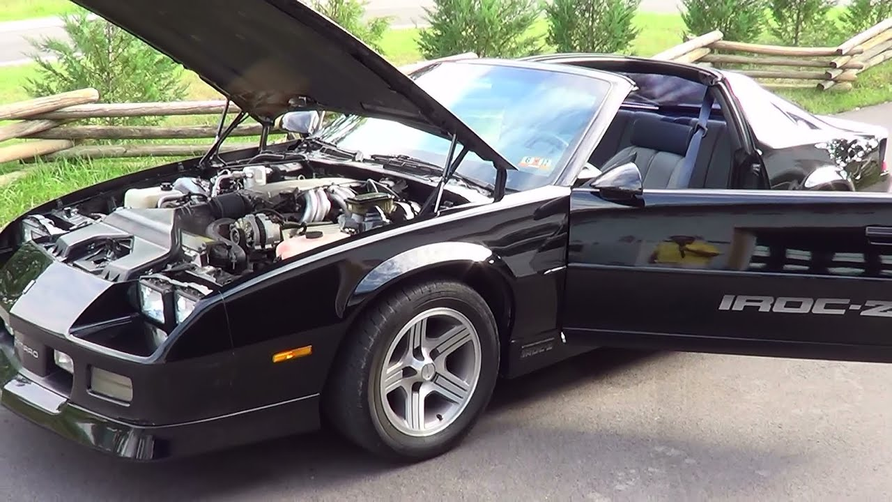 1988 Iroc Camaro Youtube