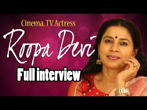 Film And TV Actress Roopa Devi Full Interview    Telugu Popular TV