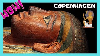 COPENHAGEN, the fascinating EGYPTIAN MUMMIES at the NATIONAL MUSEUM (DENMARK)