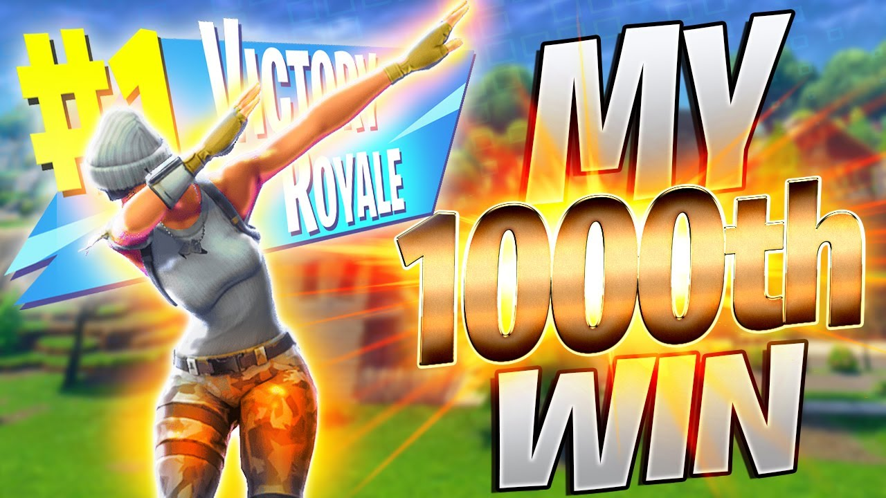 Getting my 1000th Victory Royale Using Combat Pro (Live Solo Commentary)