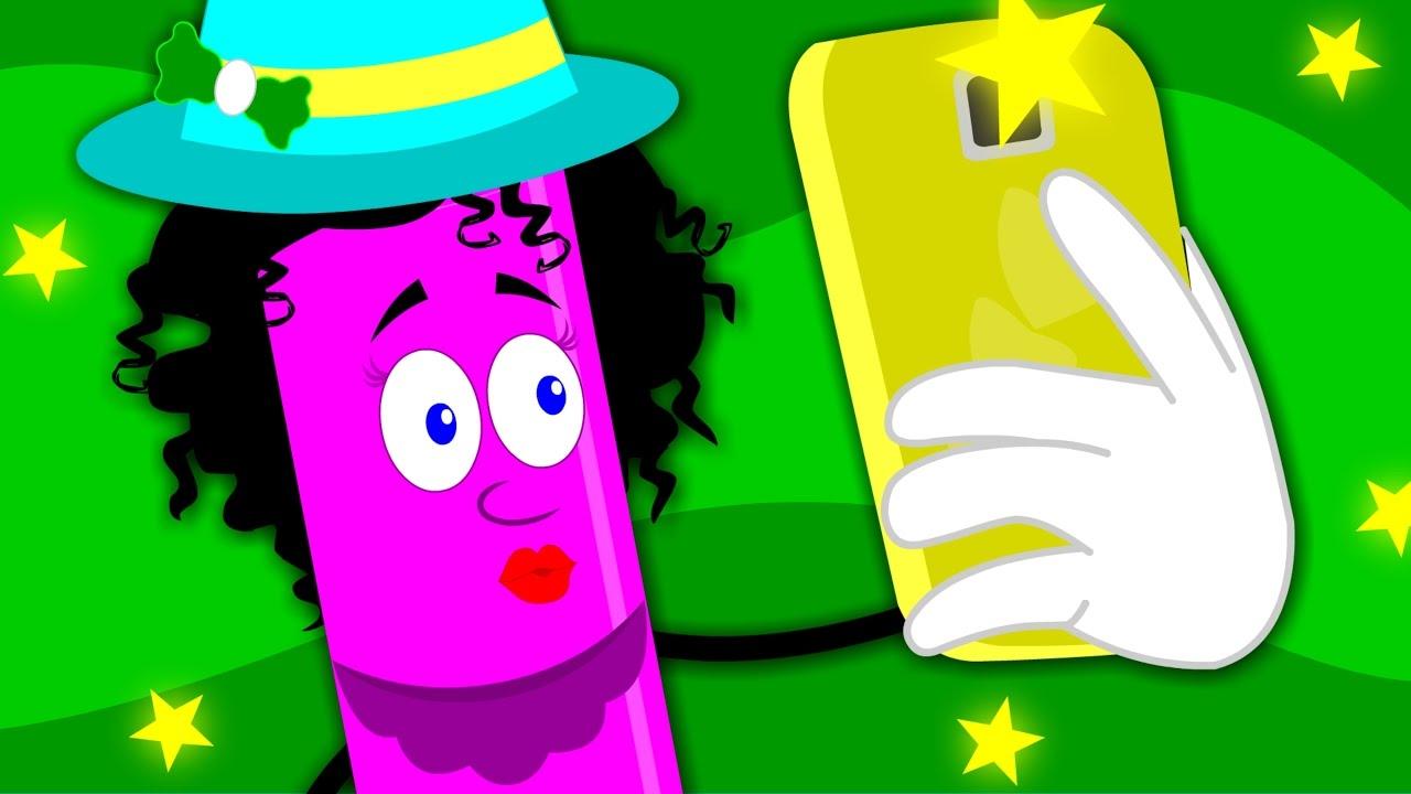 Chubby Cheeks | Nursery Rhymes | Crayons Color Song | Baby Rhymes ...