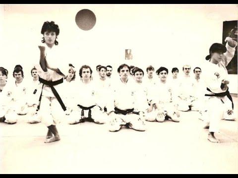 Karate Do School TEN NO KATA Sensei W alter Toch on his Int  Fest  Martial Arts 1987