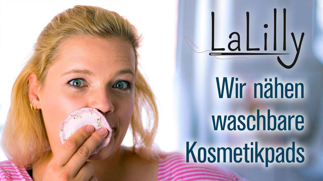 5-Minuten Näh-DIY: Kosmetikpads