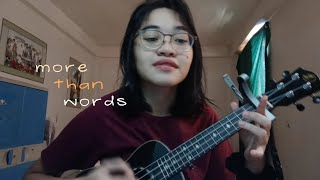 More than words by Extreme | ukulele cover