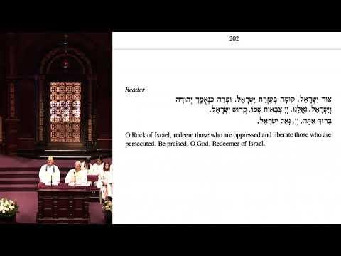 5778: Yom Kippur 8:45 a.m. - Wilshire Boulevard Temple