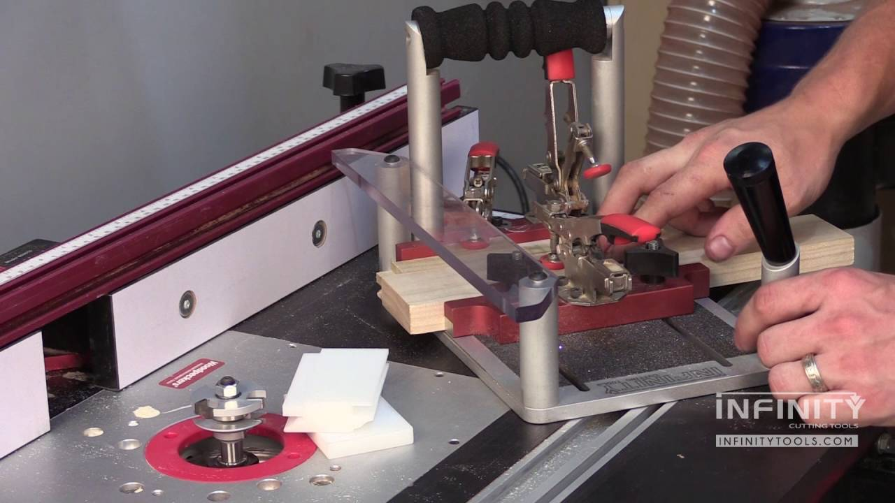 How To Use Rail And Stile Router Bits To Make Cabinet
