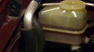 'ГТ' Замена масла или прокачка в ГУР (гидроусилитель руля)