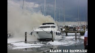 21.06.2019  - Brand i skib - Juelsminde