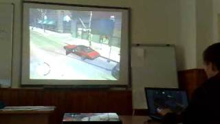 Grand Theft Auto 4 Episodes from Liberty City on Video Projector
