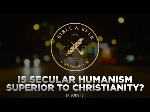 secular humanism vs christianity Is secular humanism an entirely secular philosophy humanist philosophies are inextricably connected to the judeo-christian notion of the worth of individual.