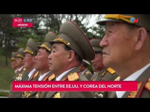 Máxima tensión entre EEUU y Corea del Norte
