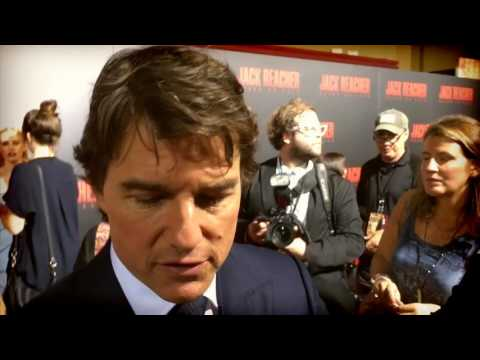Watch: Tom Cruise, on filming