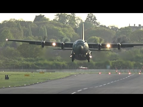 C-130 Hercules Takeoff from Northolt